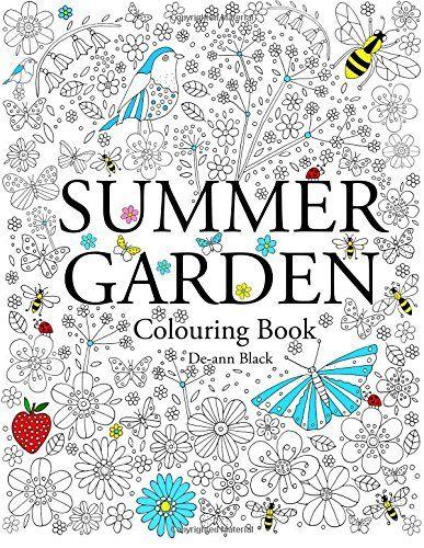 Summer Garden Colouring Book Amazoncouk De Ann Black