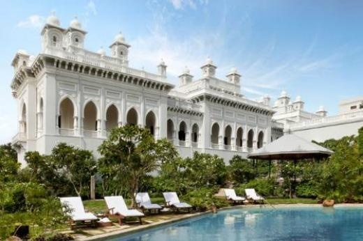 Taj Falaknuma Palace is known for its Best for ambience & design.