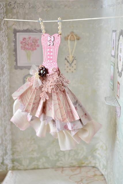 tiny paper dress