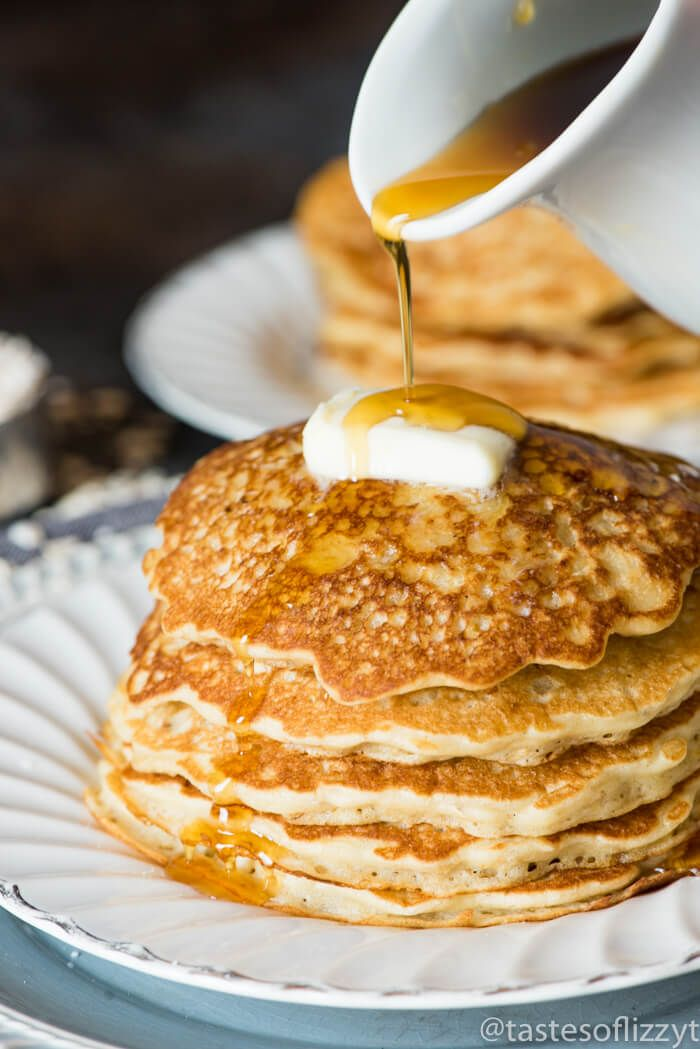 Best 25 thick pancake recipe ideas on pinterest best pancake this thick hearty easy oatmeal pancakes recipe keeps your family nourished and ready for ccuart Choice Image