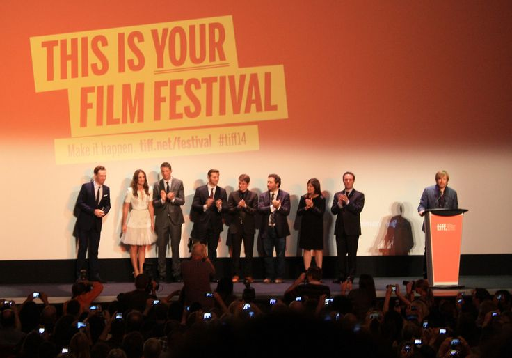 Benedict Cumberbatch Q & A at The Imitation Game at TIFF 2014 in Toronto. // Pic by @JenCappelli