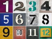 Photos of letters and numbers.  Fun projects to make with these:  Last Name Est. Year, Kids names, bold words to add to a picture collage