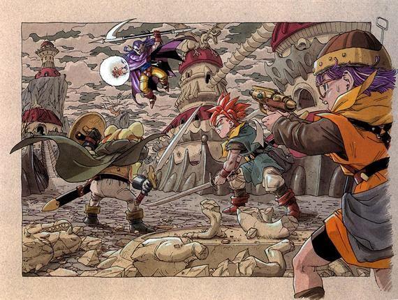 Chrono Trigger Video Game Poster Etsy Chrono Trigger Chrono Akira Chrono trigger wallpaper hd