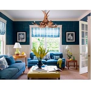 Bedroom Decor Navy Blue