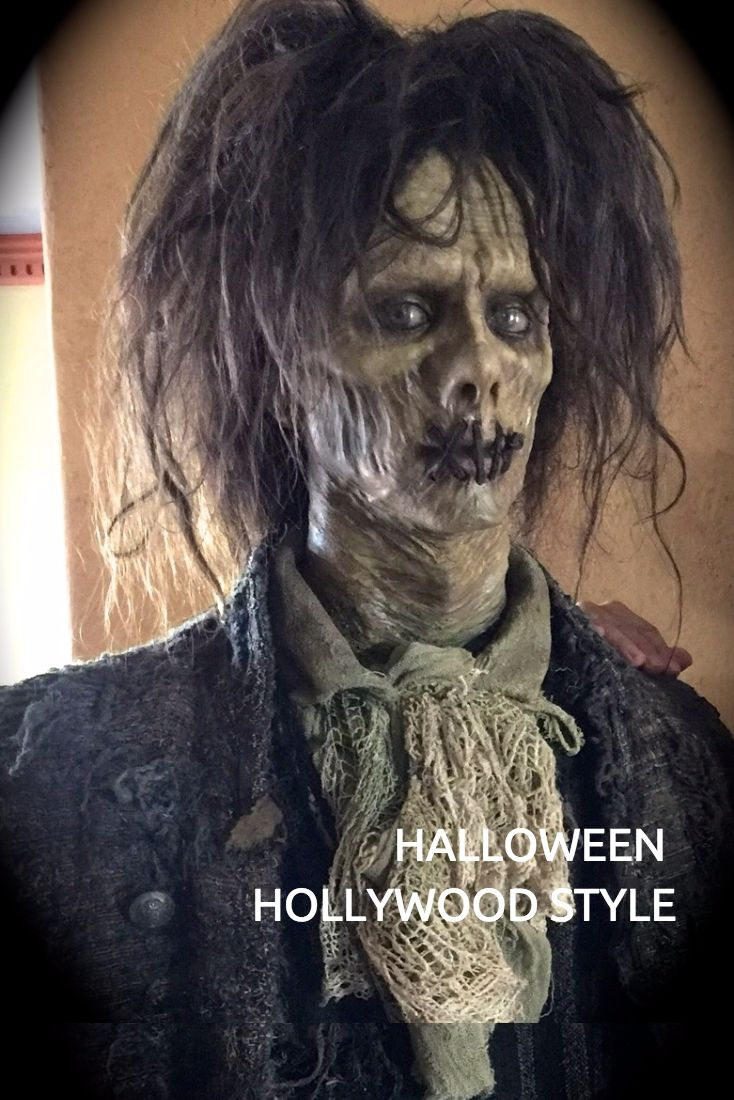 Halloween Hollywood Style at the home of top Hollywood Special Effects Artist, Tony Gardner.