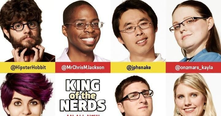 king of the nerds meet contestants
