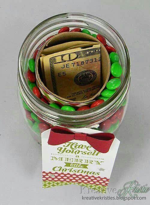 Weihnachtsgeld im Glas