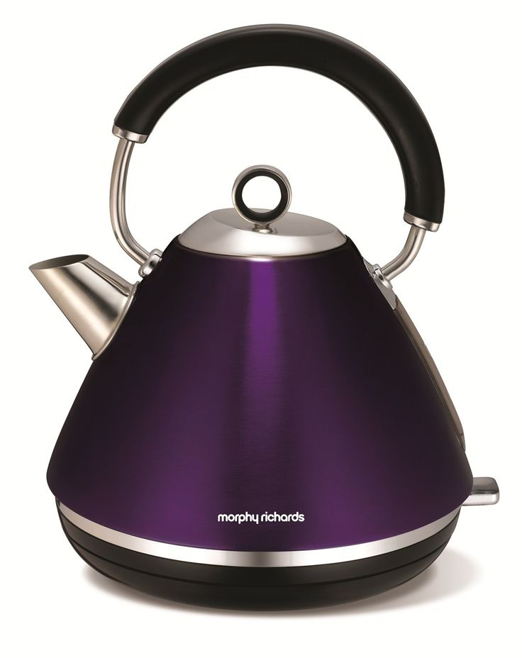 Accents Traditional Kettle Plum | Electric Kettles