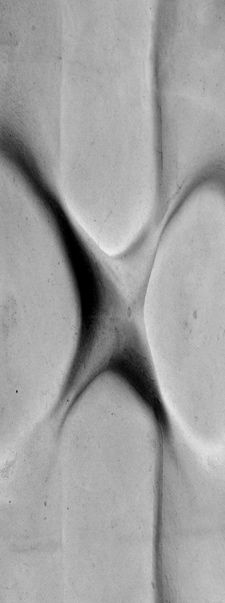 Moulded concrete (pinching)