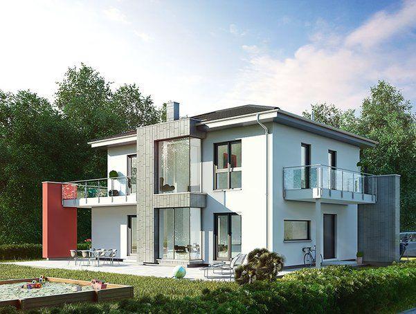 Entwurf musterhaus poing von okal haus bau zuhause3 for Musterhaus bilder