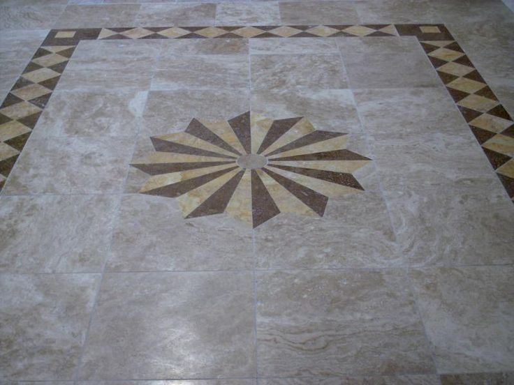 53 Best Images About Tile Floor Designs On Pinterest