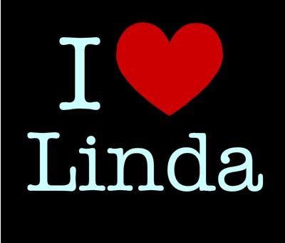 Фото с надписью линда