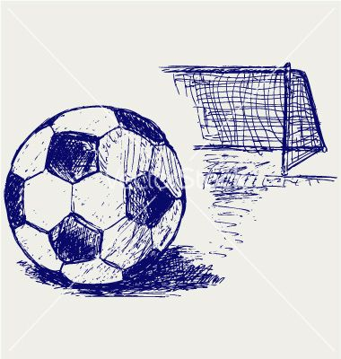 pencil drawing soccer ball - Google Search