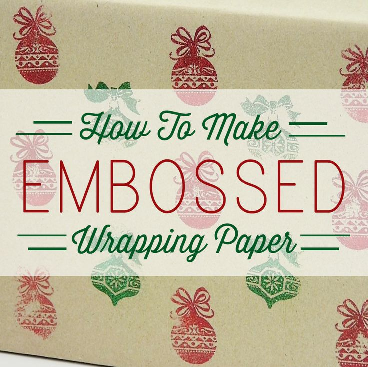 Creative gift wrapping ideas for christmas brown paper for Creative tissue paper ideas