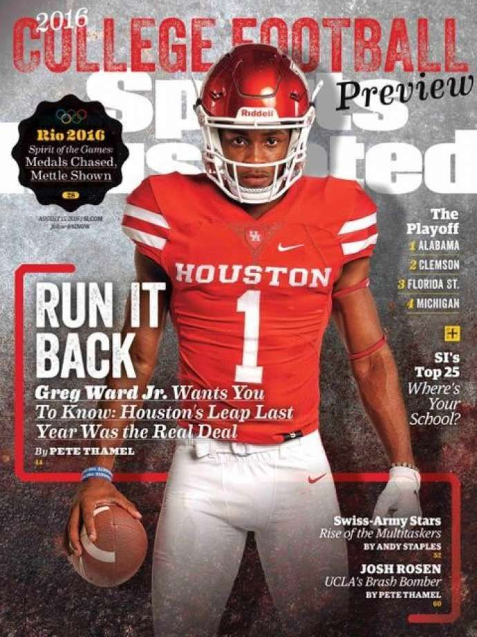sports illustrated covers | ... on the cover of Sports Illustrated. Photo: Courtesy Sports Illustrated