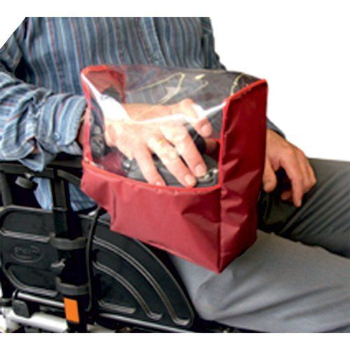 Electric Wheelchair Control Panel Cover (Maroon)