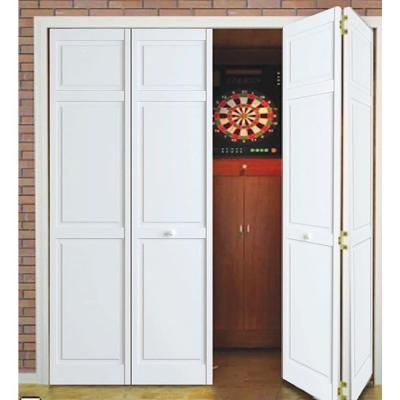 Kimberly Bay 30 In X 80 In White 6 Panel Solid Core Wood