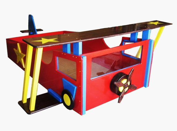 airplane toddler bed frame 2