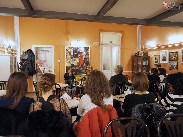 Presentazione c/o il Caffè del Teatro Creolini. Cvt Alta (Marche). 6 marzo 2016