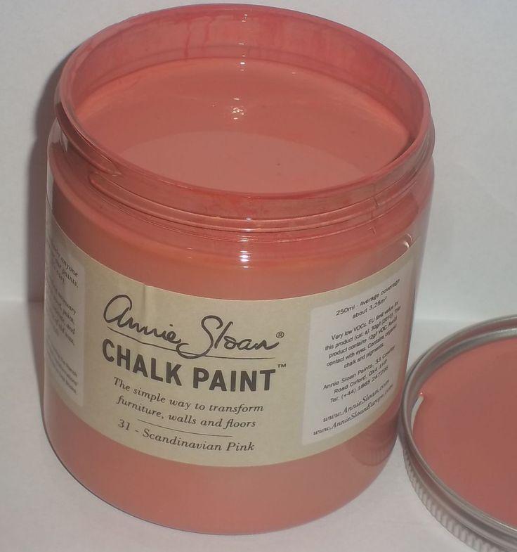 Annie Sloan krijtverf Scandinavian Pink 250 ml