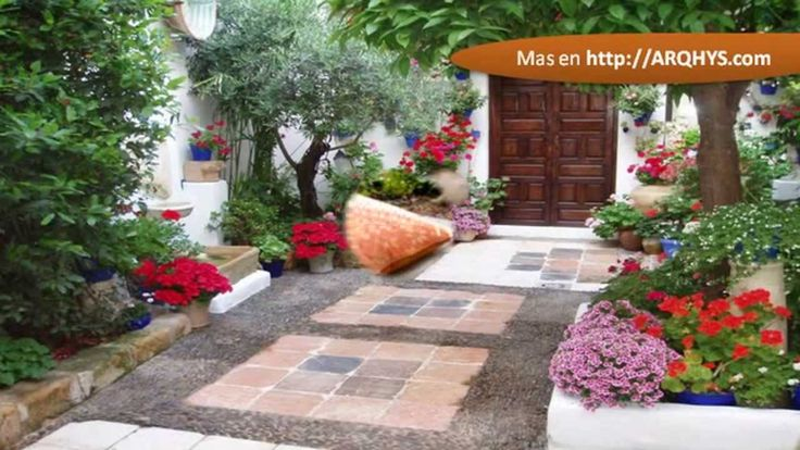 Decoracion de patios exteriores eco l gica pinterest for Ideas jardines exteriores