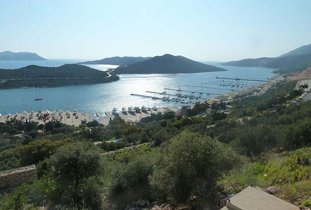 3.Day, Yesilkoy, Kas, Gokkaya Bay, private yacht rental, www.barbarosyachting.com