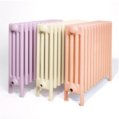 Metal radiator from Bisque | Pastel Homewares | Interiors | Red Online