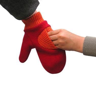Rękawiczka dla dwojga.