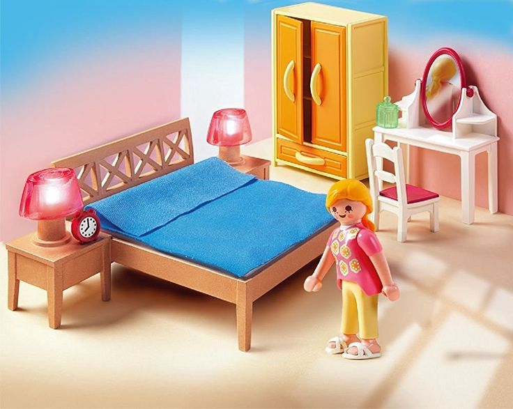 Amazon.com: PLAYMOBIL Parents Bedroom: Toys & Games