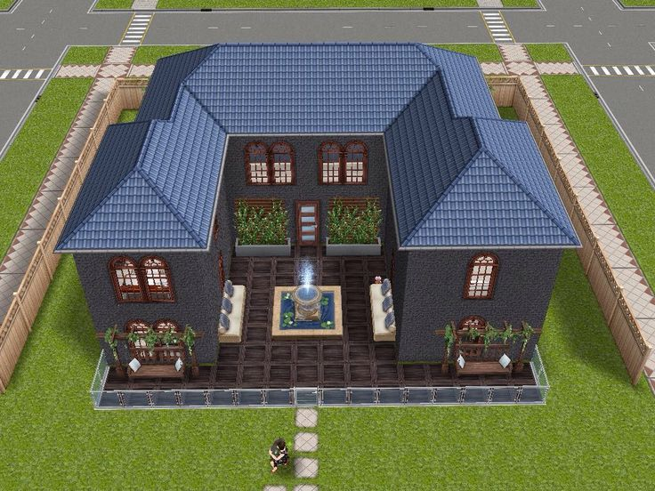 161 best sims freeplay house design ideas images on pinterest house design sims and sims house On sims exteriors