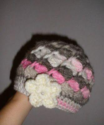 Crochet with love - Hand made Ája: SPIRÁLOVÁ ČEPIČKA MADE BY ÁJA
