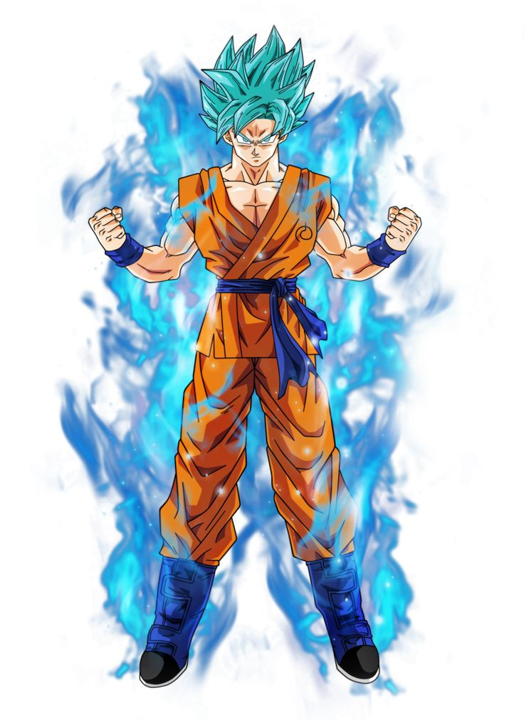 Goku super saiyan blue by BardockSonic on DeviantArt