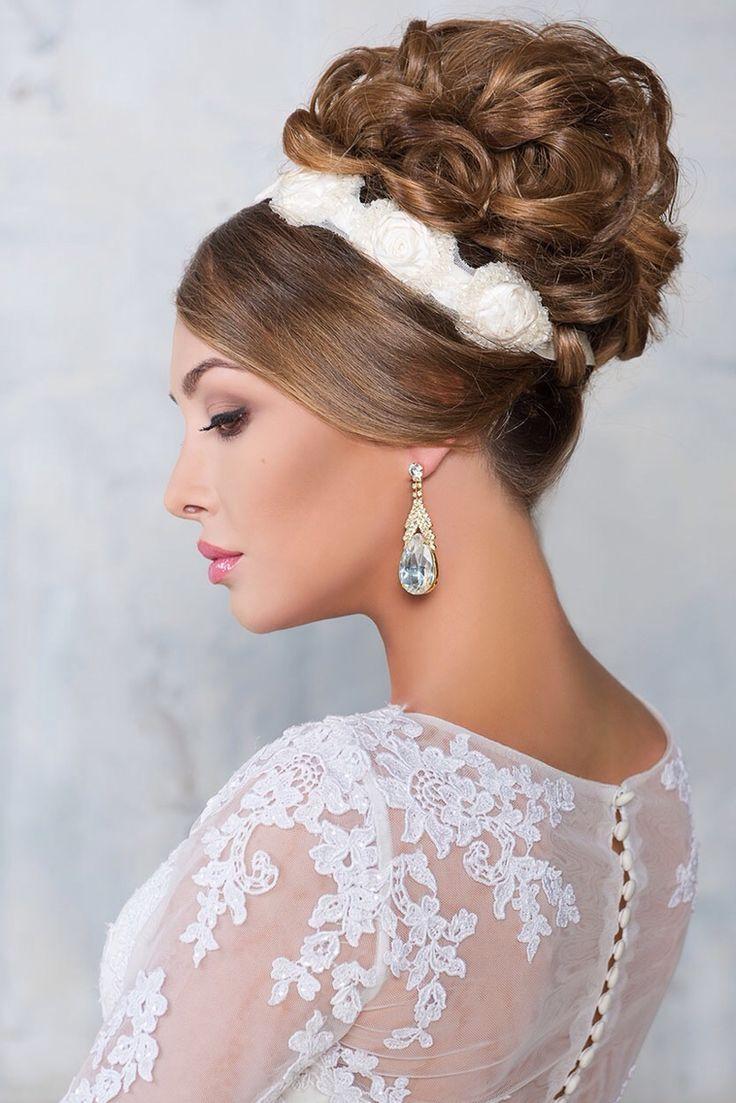 137 best wedding hair images on pinterest | wedding hair, wedding
