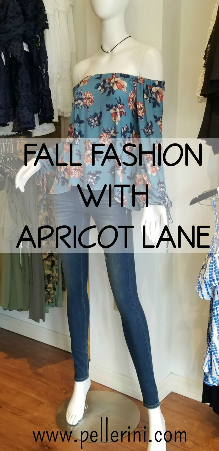 Fall Fashion at Apricot Lane - I had such a fun time looking for great Fall fashion finds at Apricot Lane last week!  Cold shoulders, rompers and more!