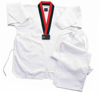 Taekwondo WTF Uniform, Taekwondo WTF Uniforms, Taekwondo Uniform, Taekwondo Dobok. To buy online this product just click here: http://agasi.com.my/Taekwondo/Taekwondo-Uniforms/Taekwondo-Dobok-Red-Black-V