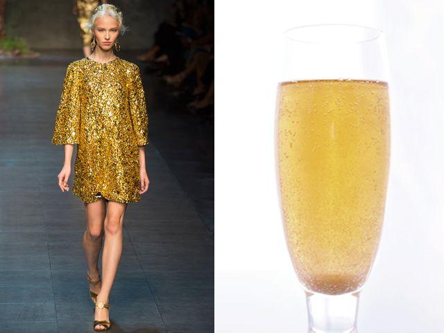 Dolce & Gabbana ss 2014 / Gold e champagne