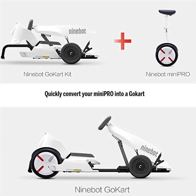 Ninebot Electric Gokart Kit by Segway- Convert MiniPRO S into Go
