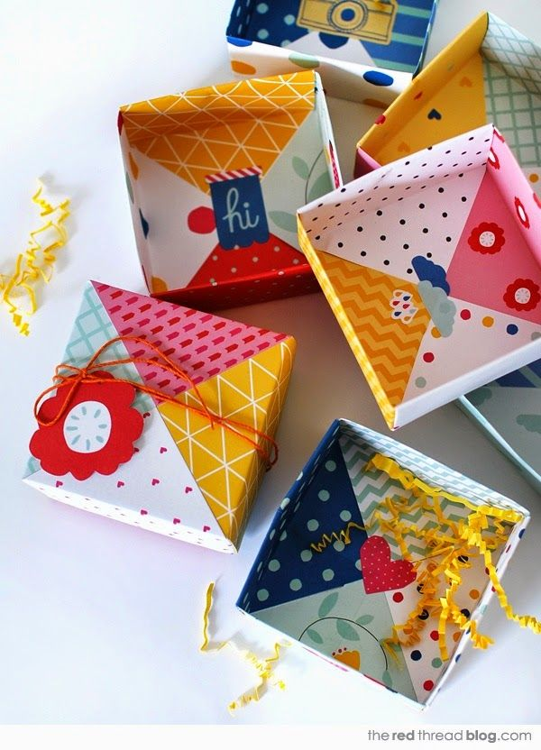 Wimke: Pinterest DIY Origami boxes
