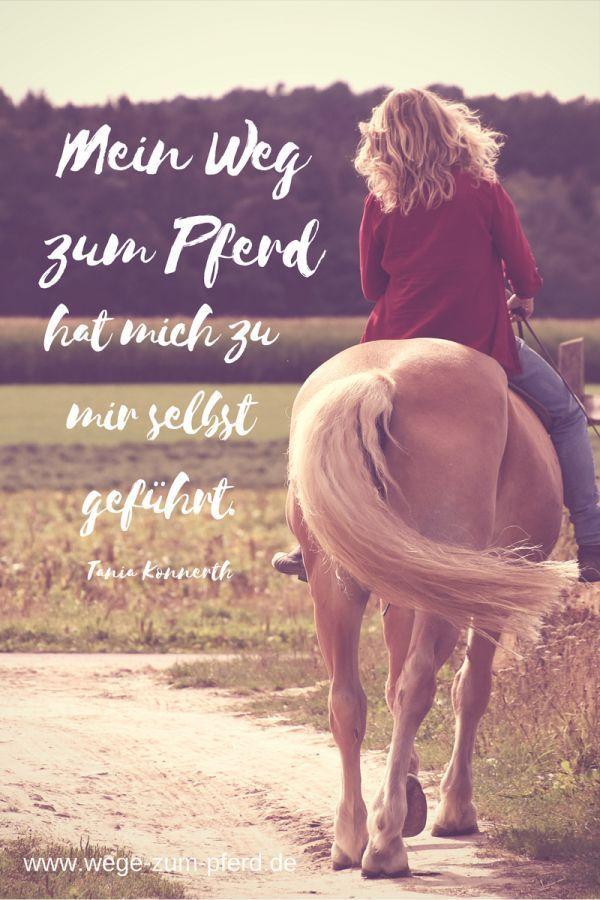 Mein Weg zum Pferd in 2020 | Pferdesprüche, Pferde