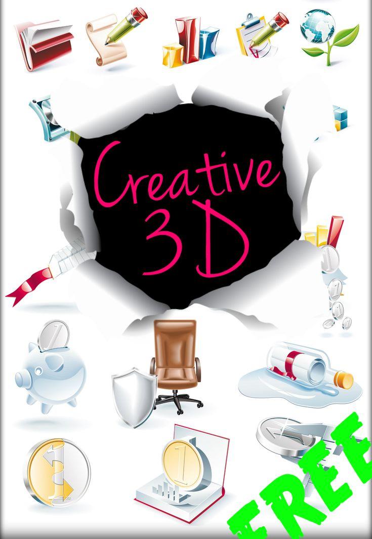 Creative 3d Png Set by AEONFLAX (Chiara Alchimia). 36 Png di alta qualità, organizzate in 4 tavole da 9 png ciascuna! Delle eccezionali icone in formato png da scaricare gratis e usare sui vostri Pc, siti Web, Blog o progetti personali! Come sempre Live Inspired!!