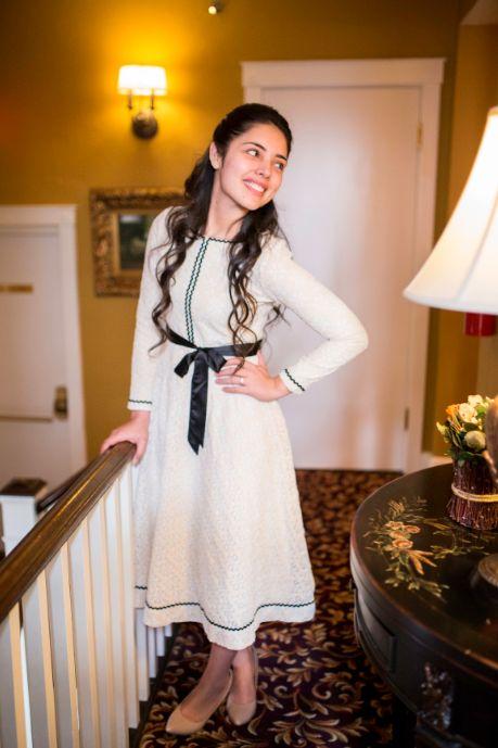 Modest Fashion | Modest Bridesmaid Dresses | Modest Dresses | Shop at www.daintyjewells.com