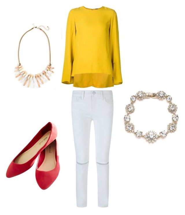 """""""Untitled #48"""" by erikaelena23 on Polyvore featuring ADAM, Rebecca Minkoff, Wet Seal, Marchesa and Topshop"""
