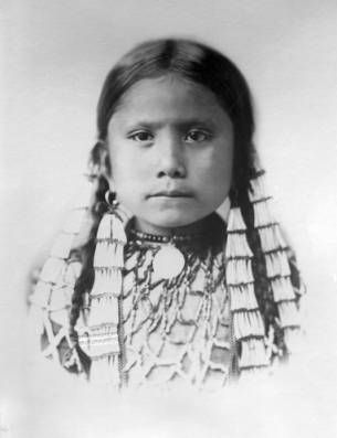 Standing Holy, daughter of Sitting Bull, 1885