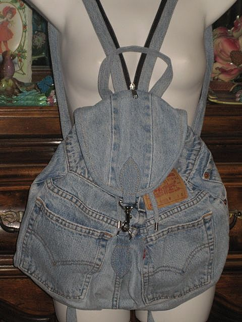 Cute refashioned jeans