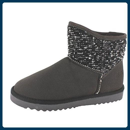 ESPRIT UMA TWIRL CASUAL 115EK1W014015 Damen Stiefel, Grau 41 EU - Stiefel für frauen (*Partner-Link)