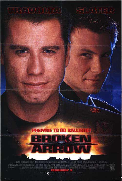 Broken Arrow (1996) Decent score.
