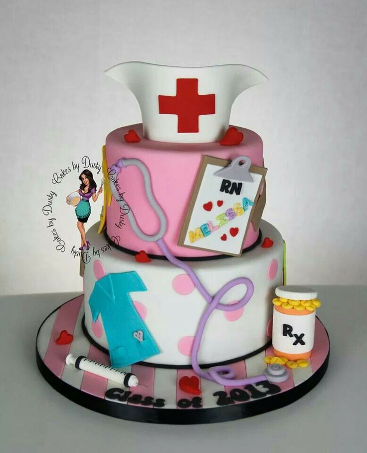 Cake Decorating Ideas For Nurses : An Image Of A Nurse Cake Ideas 110452 Nurse Cake Cake Idea