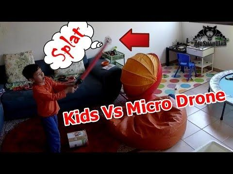 Kids Vs Micro Drone Who won Who Lost?