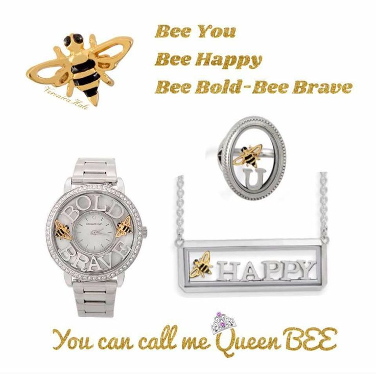 The fresh and creative range of expression with the new Bee Charm from Origami Owl!