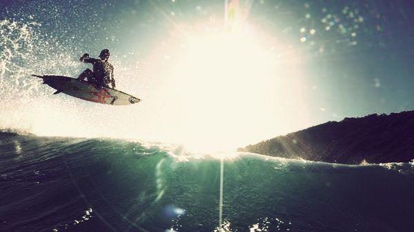 Chilled arvo surf !